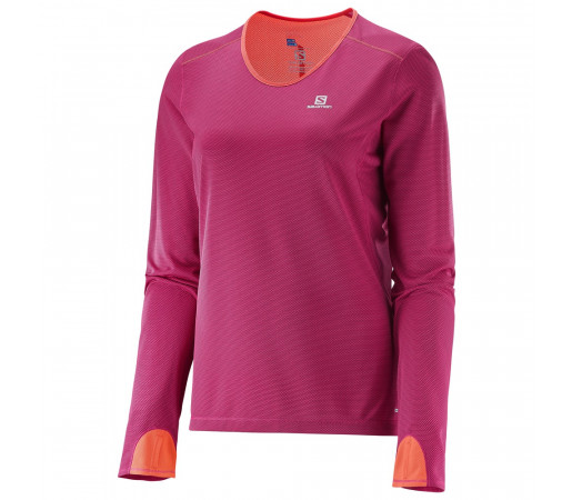 Bluza Salomon W Trail Runner Roz