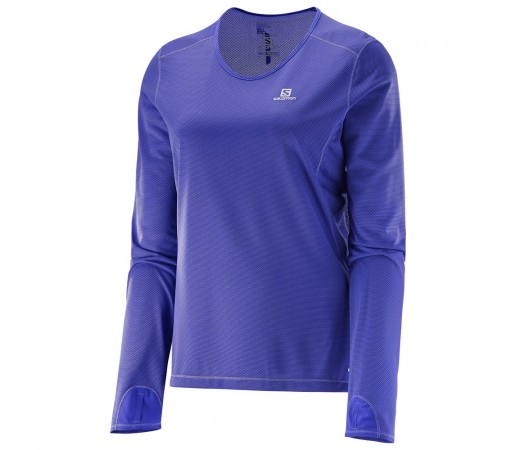 Bluza Salomon W Trail Runner Violet