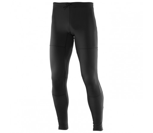 Pantaloni alergare Salomon M Park Warm Tight Negri