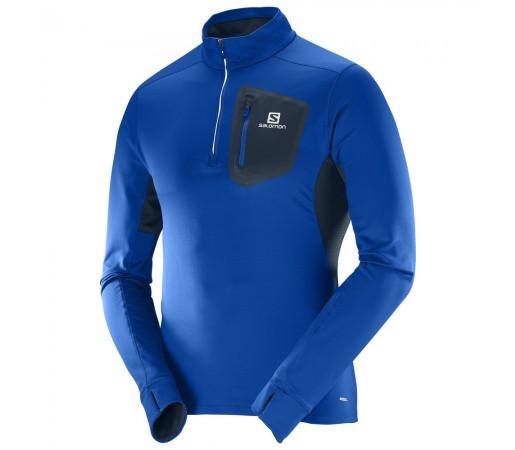 Bluza Salomon M Trail Runner Albastra