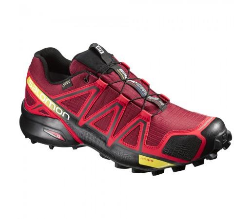 Incaltaminte alergare Salomon Speedcross 4 GTX M Rosu/Negru