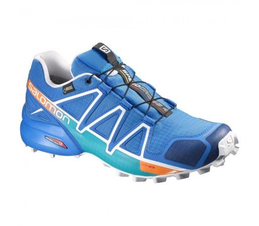 Incaltaminte alergare Salomon Speedcross 4 GTX M Albastru/Alb