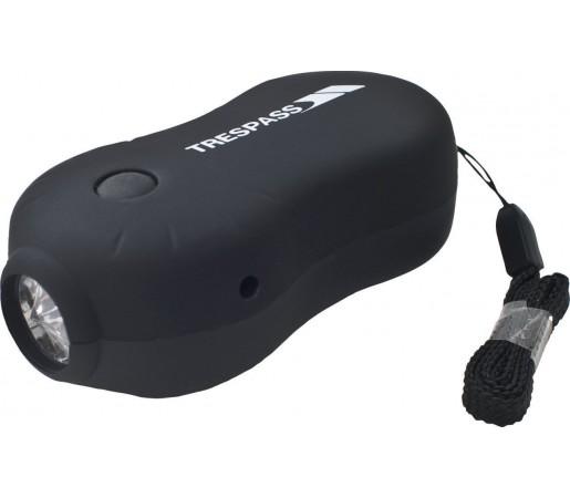 Lanterna cu dinam Trespass Ion X- wind Black