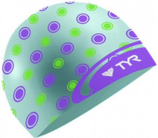 Casca inot Tyr Logo Dot bleu 2013