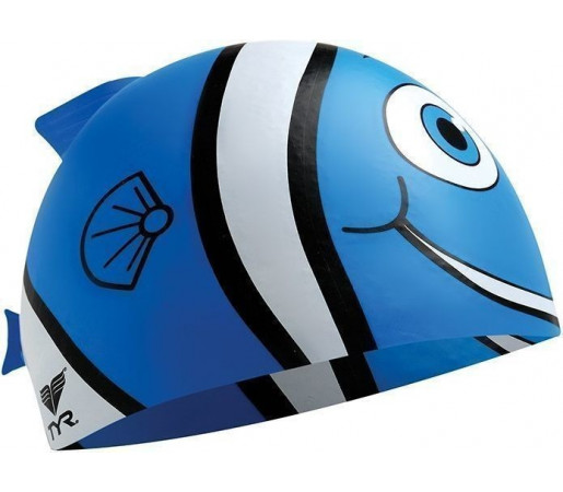 Casca inot Tyr Happy Fish Junior bleu 2013