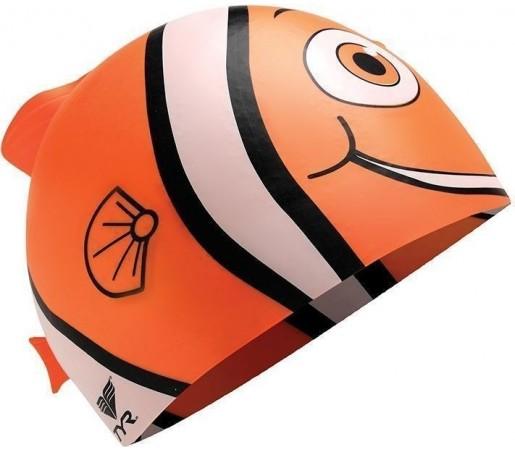 Casca inot Tyr Happy Fish Junior portocalie 2013
