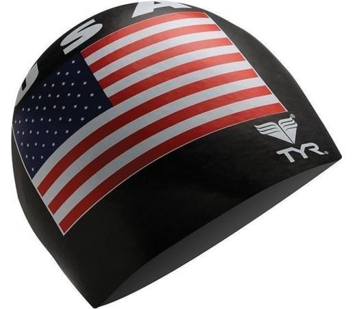 Casca inot Tyr USA neagra 2013