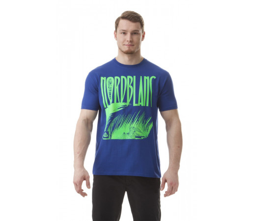 Tricou Norblanc M Leaf Bleumarin