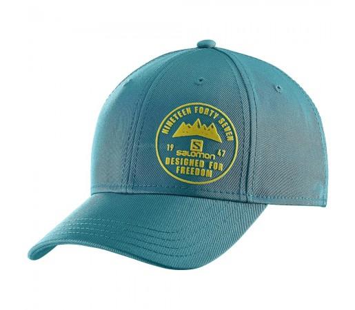 Sapca Salomon Logo Cap M Albastra