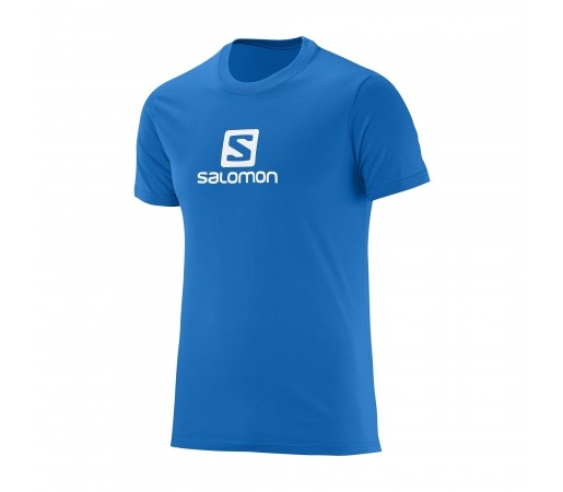Tricou Salomon M Logo Albastru