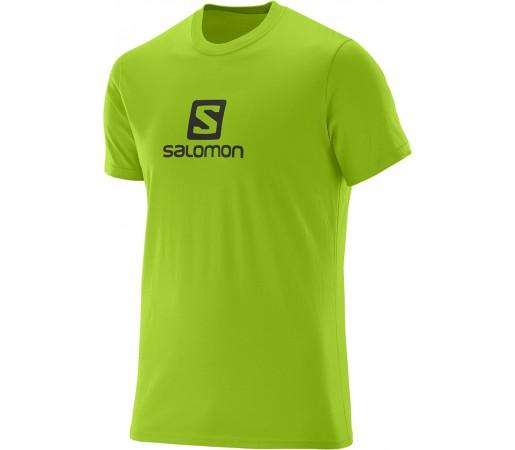 Tricou Salomon Logo SS Cotton Tee M Verde