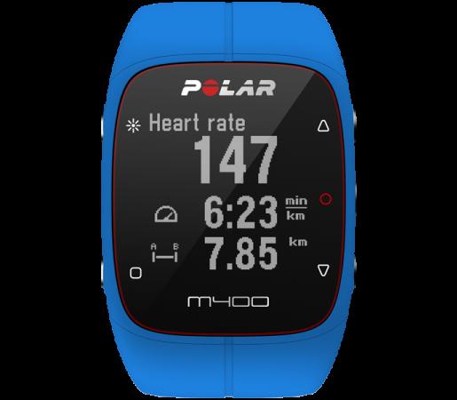 Ceas Polar M400 cu GPS Albastru