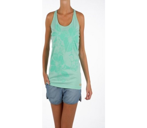 Maieu Protest Clash Singlet Turquoise