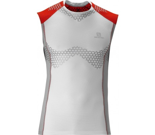 Maieu Salomon Exo S-Lab Tank M White-Grey 2013