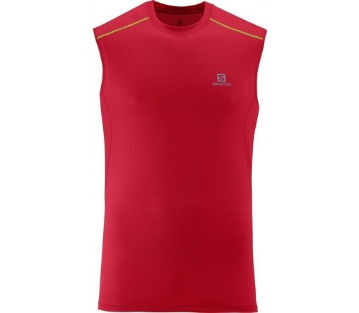 Maieu Salomon Trail Runner Tank M Red