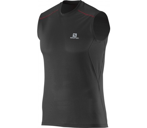 Tricou Salomon Trail Runner Tank M Negru
