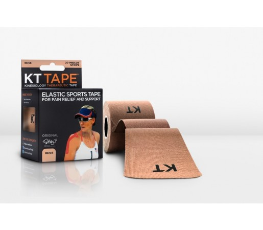 Benzi Kinesiologice Kt Tape Pro Synthetic Precut Bej
