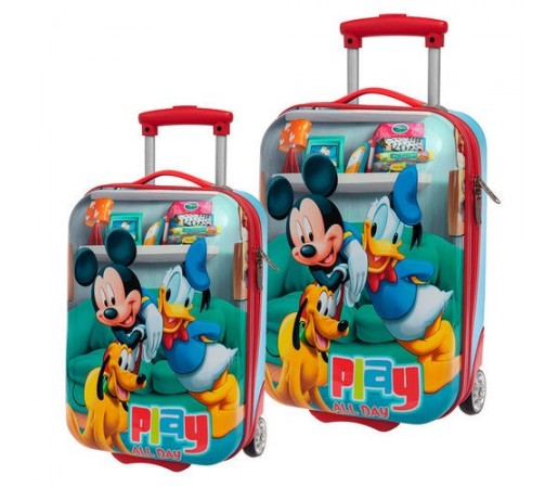 Set trolere abs Disney Mickey/ Donald/ Pluto