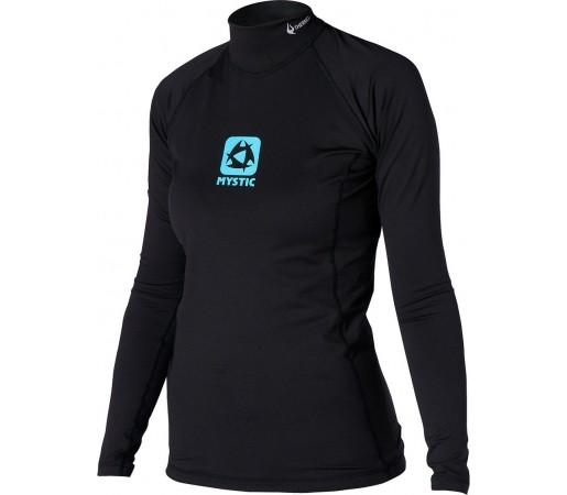 Bluza cu protectie UV si termica Mystic Bipoly LS Neagra