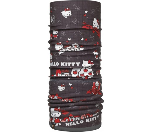 Neck Tube Buff Polar Hello Kitty Grid