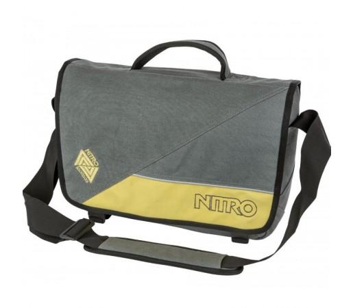 Geanta Nitro Evidence Bag Gunmetal Gri
