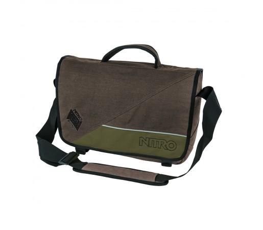 Geanta Nitro Evidence Bag Smoke Gri/Verde