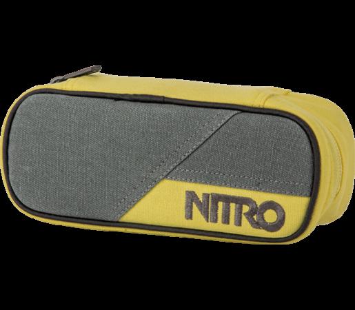 Penar Nitro Pencil Case Gun Metal Gri