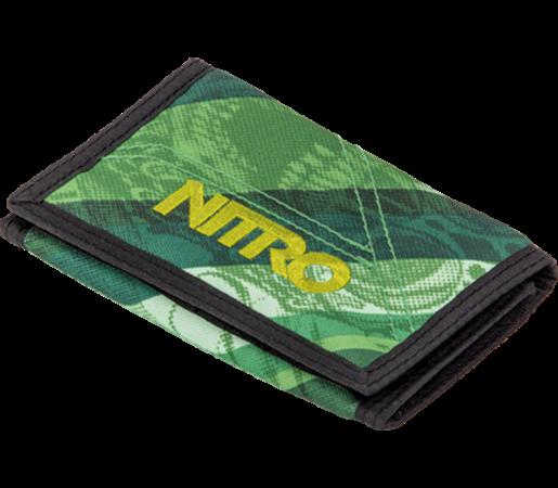 Portofel Nitro Wallet Wicked Verde