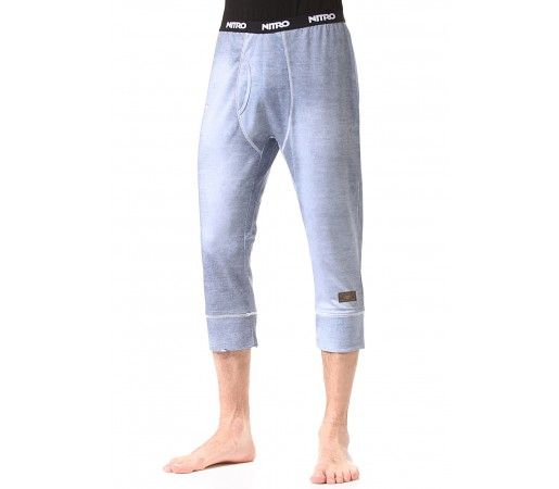 Pantaloni First Layer Nitro 3/4 Long Johns Albastri