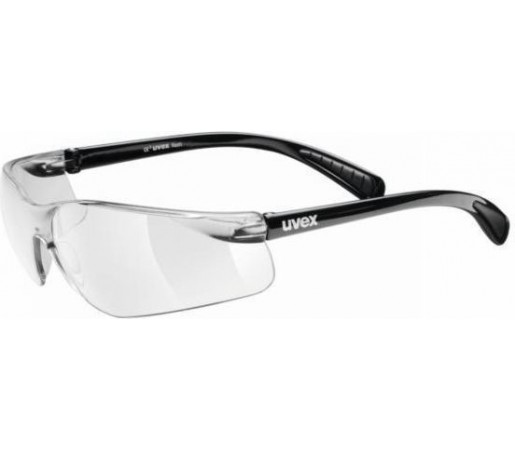 Ochelari bicicleta Uvex Flash Black- Transparent