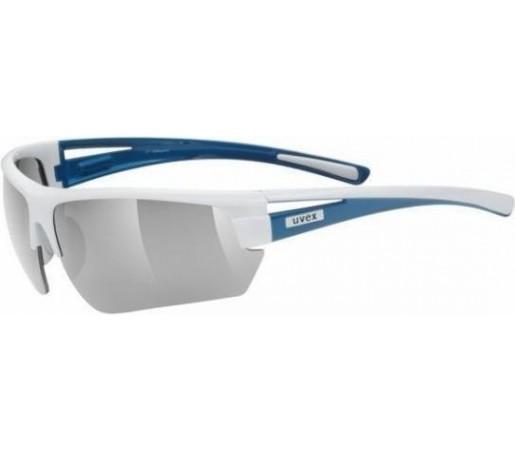 Ochelari soare Uvex Gravic White- Blue