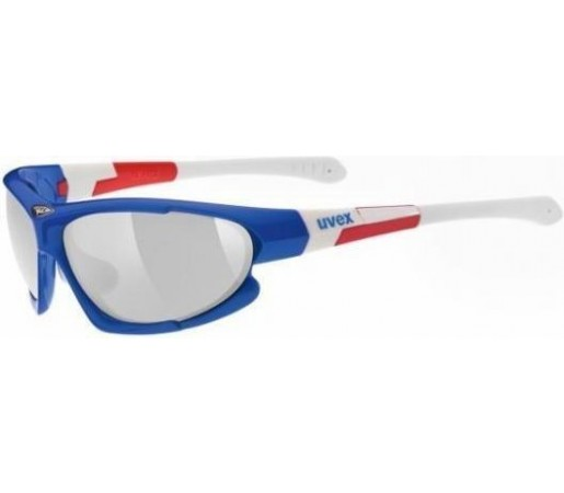 Ochelari soare Uvex SGL 100 Blue- White- Red