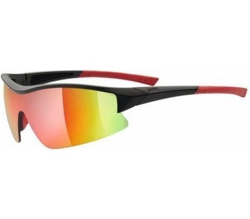 Ochelari soare Uvex SGL 103 Black- Red