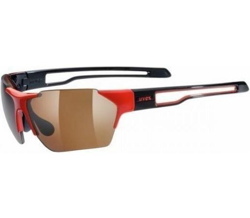 Ochelari soare Uvex SGL 202 Pola Red- Black