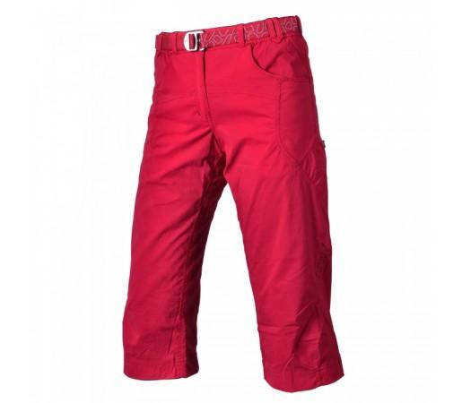 Pantaloni 3/4 Warmpeace W Flex Rosii