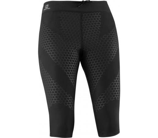 Pantaloni Compresie Salomon EXO 3/4 TIGHT W Black