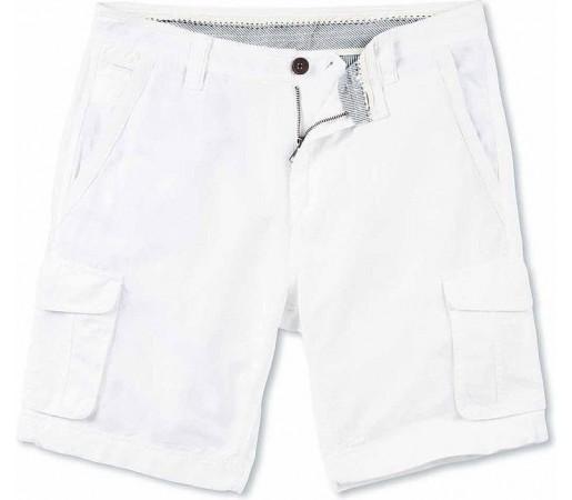 Pantaloni Crew Clothing Brook Cargo White