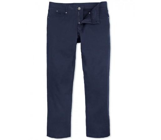 Pantaloni Crew Clothing Porchester Albastru Inchis