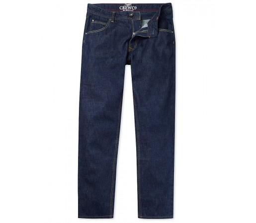 Pantaloni Crew Clothing Spencer Slim Fit Indigo