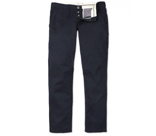 Pantaloni Crew Clothing Vintage Chino Albastri