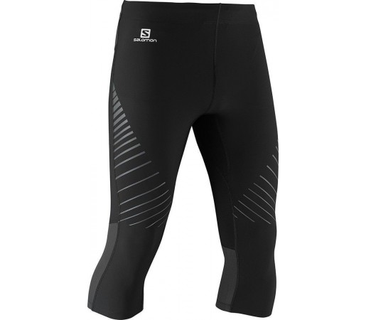 Pantaloni Salomon Endurance 3/4 Tight M Black