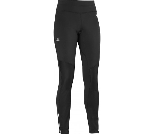 Pantaloni Salomon Windstopper Trail W Black