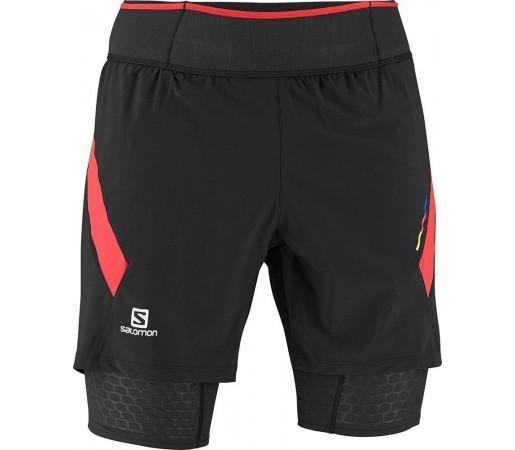 Pantaloni Scurti Compresie Salomon Exo S-Lab TW Short M Black