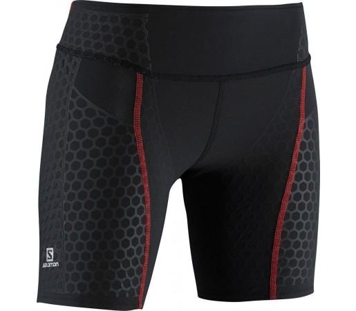 Pantaloni Scurti Compresie Salomon S-Lab Exo Short Tight W Black
