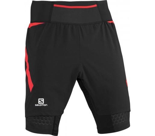 Pantaloni Scurti Salomon Exo S-Lab TW Short M Black 2013