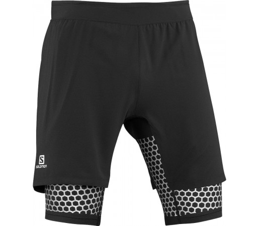 Pantaloni Scurti Salomon Exo Wings TW Short M Grey 2013