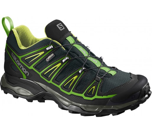 Incaltaminte Hiking Salomon X Ultra 2 Gore-Tex Negru/Verde