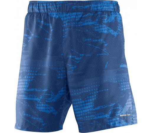 Pantaloni scurti Salomon Park 2in1 Short M Albastri