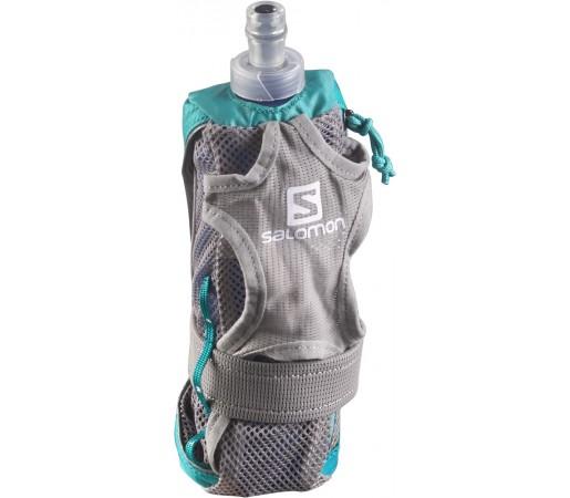 Suport hidratare Salomon Park Hydro Handset Turcoaz/Gri