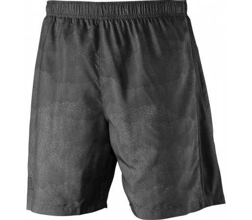 Pantaloni Salomon Park 2In1 Short M Negru